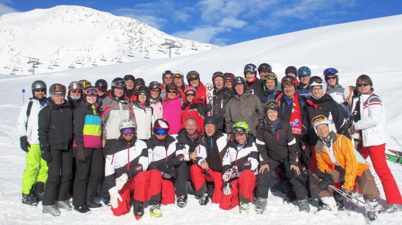 Skigruppe Stubai 2017 am Gamsgarten